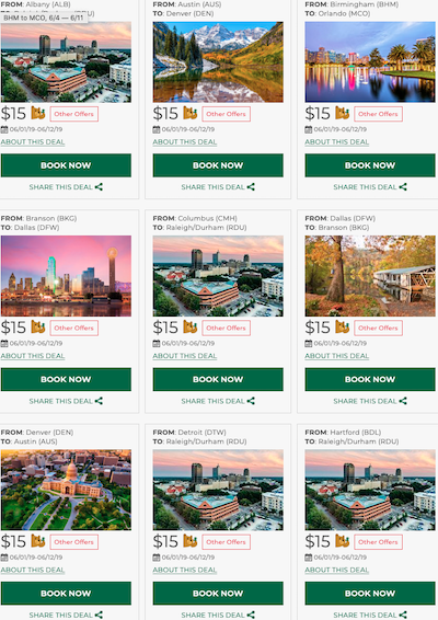 Frontier Airlines Sale Cheap Flights Across The Usa From