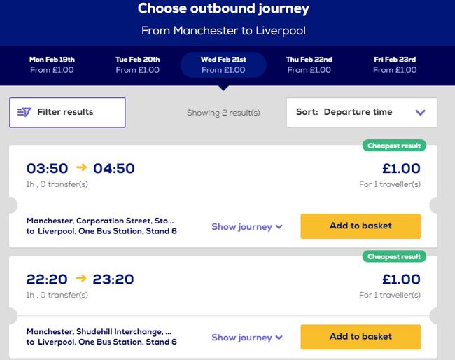 Megabus Sale: £1 fares across the UK!