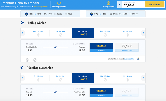 Ryanair Mega Sale Tickets From 5 50 Each Way