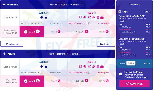 Wizz Air Sale 25 Off All Flights To And From Bulgaria