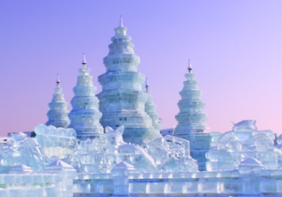 Visit the famous Ice and Snow Festival in Harbin! Cheap flights from many European cities from only €285!