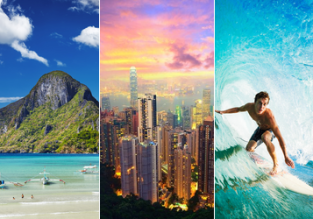 Round the world from the UK for just £836! Dubai, Philippines, Hong Kong, Hawaii & Canada!