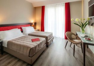 Bed+breakfast stay in well-rated 4* hotel in Milan from €24.70 per person!