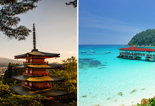 5* ANA: New York to Malaysia for $535! 2 in 1 with Japan for $652!