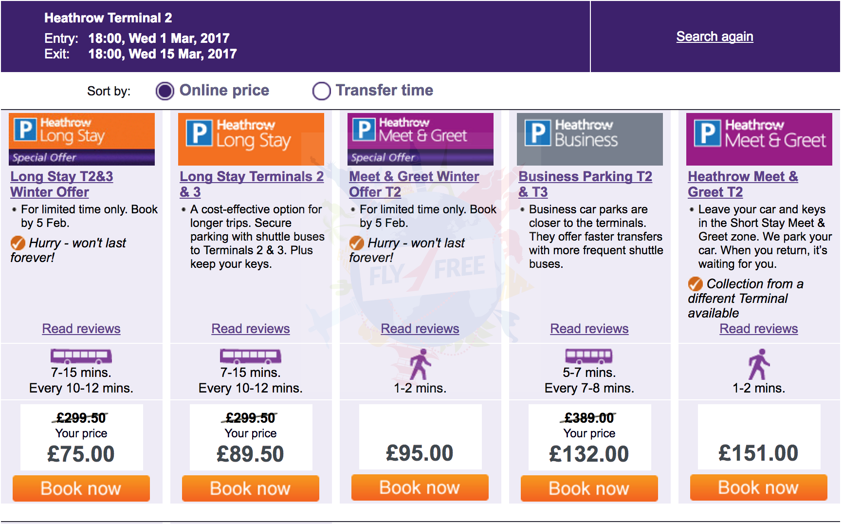 Last Day Heathrow Airport Parking Winter Sale 536 Per Day