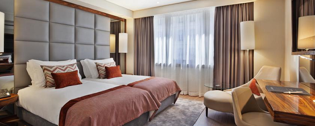 Superior double room in excellent 4* hotel in Lisbon from €29.60/ per person/night!