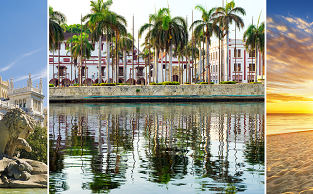 Madrid, Bogota + Cartagena and Florida in one trip from New York for $645!