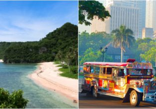 Singapore or Malaysia to Guam from $221! 2 in 1 with Manila from $239!