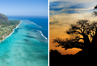 Kuala Lumpur to South Africa for only $555! Add stop on Mauritius for $114 more!