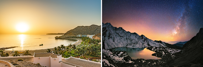 2 in 1: London or Manchester to Oman + Nepal from only £355!
