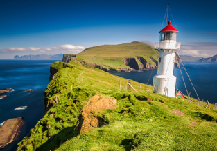 Spring & Peak Summer! Cheap flights from Copenhagen to Faroe Islands from only €117!