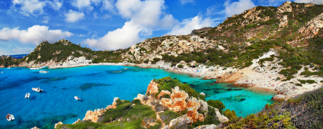 7-night stay in a top-rated beachfront hotel in Sardinia + flights from London for £219!