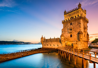City break in Lisbon! 4-night stay at well-rated guesthouse + flights from Frankfurt Hahn for just €128!