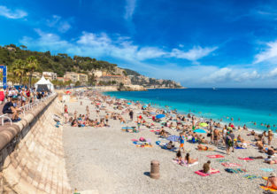 Late summer! Many US cities to French Riviera from $366!