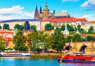 AUGUST: cheap non-stop flights from New York to Prague, Czech Republic for only $403!