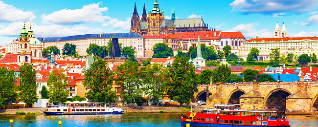 Cheap flights from Scandinavia to Prague and vice-versa from only €7!