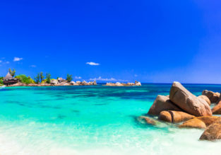 Cheap flights from Vienna to exotic Praslin Island, Seychelles for only €481!