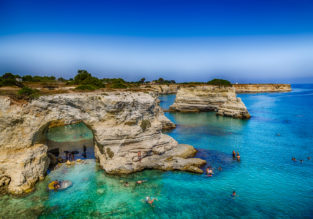 AUGUST! 7-night B&B stay at very well-rated apartment in Puglia, South Italy + cheap flights from Berlin for only €150!