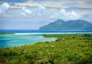 London or Manchester to distant and exotic Tonga, Vanuatu or Solomon Islands from £685!