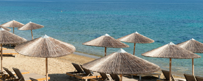 7-night stay in 4* beach resort in Halkidiki peninsula + flights from Goteborg for just €167!