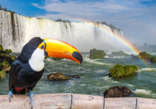 Rio de Janeiro and Iguassu Falls in one trip from Washington from $537!
