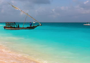 Cheap flights from Italian cities to Zanzibar from only €323!