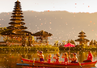 Los Angeles or New York to Denpasar, Bali from only $394!