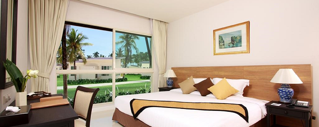 Bed+breakfast stay in suite of top-rated 4* Thai beach resort for only €20.50 per person!