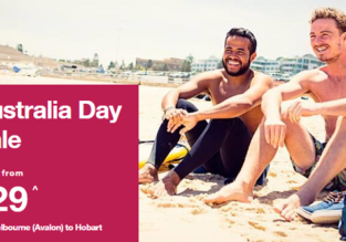 Jetstar Australia Day Sale: Fares from AU$29 one-way!