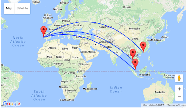 Lisbon to bangkok singapore or hong kong from just 417 how to book click here or follow the links below and adjust travel dates gumiabroncs Image collections