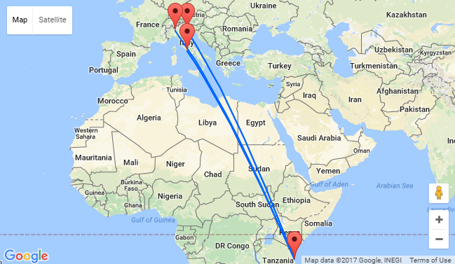 Milan To Rome >> Milan Rome Or Venice To Zanzibar From Only 377