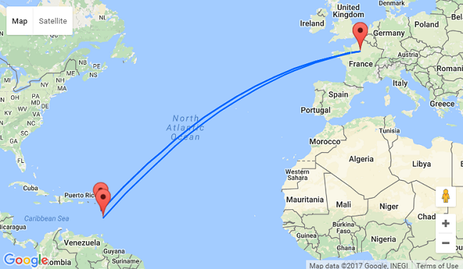 Non-stop from Paris to Guadeloupe and Martinique for just €331!