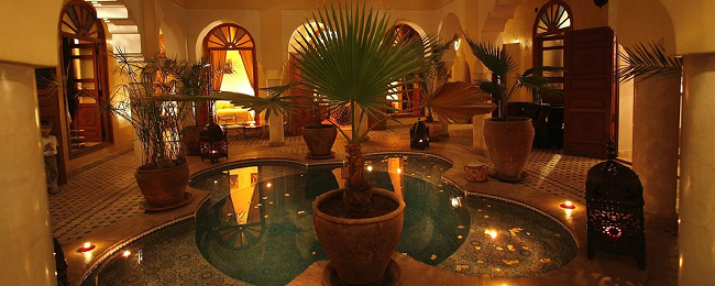 Bed+breakfast stay in very well-rated 4* riad in Marrakech for €21 per person/ night!