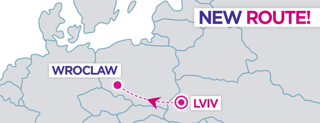 Wizz Air to resume flights from Lviv this spring! New route to Wroclaw, Poland