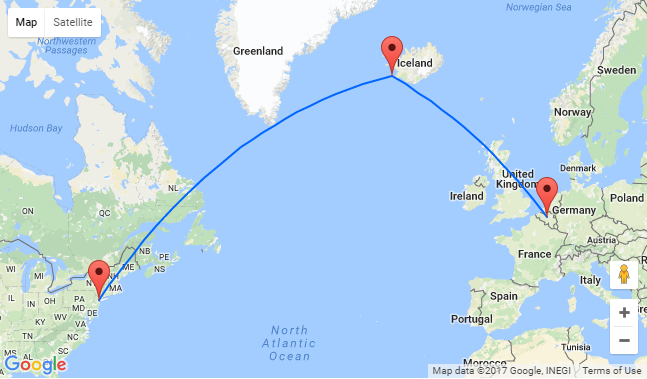 2 In 1 Brussels To Both Iceland Amp New York For Only 329