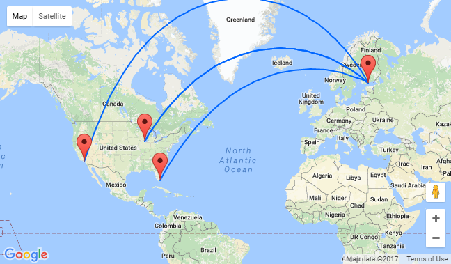 Helsinki To Miami Chicago Amp Los Angeles From Only 324