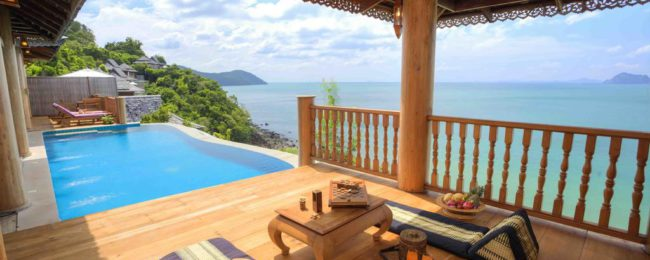 Bed + breakfast stay in luxury 5* hotel in Ko Yao Yai, Thailand for only €26.5 per person!