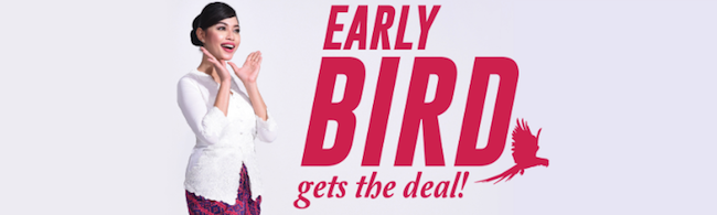 Malindo Air Early Bird Sale: Flights from $9 one-way!