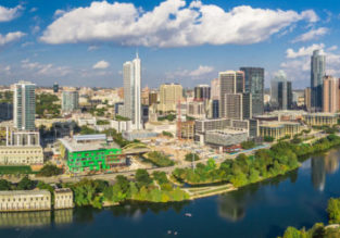 Cheap flights from Madrid to Austin, Texas for only €213!