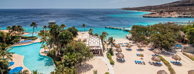 5-7 night stay at 4* Hilton Curacao + flights from Amsterdam from €369 per person!