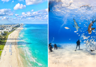 2 in 1: Germany to both Miami and Bahamas/Barbados from only €444!