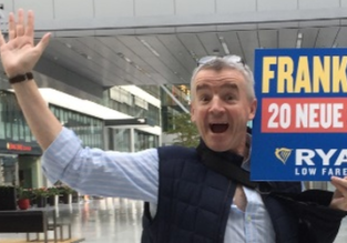 Ryanair: 20 new routes from the main airport in Frankfurt!