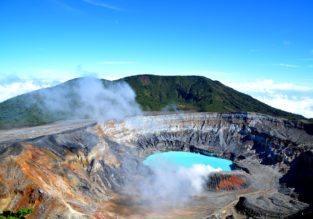 Late summer! Cheap flights from Boston to exotic Costa Rica for only $291!