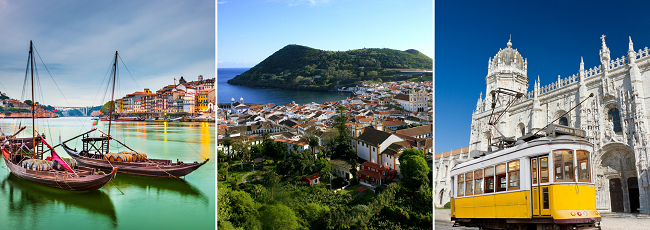 Porto, 3 islands of Azores and Lisbon in one trip from Frankfurt Hahn for €74!