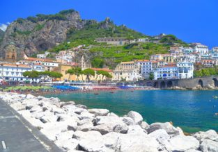 4-night stay in a well-rated property with breakfasts on the stunning Amalfi coast + flights from Manchester for just £154!