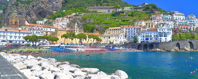 Amalfi Coast Holidays! Flights from New York to Naples + well-reviewed B&B for only $554!