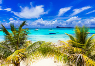 Flights from Germany + 7-night stay in top-rated resort on Mauritius for only €505!