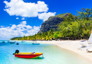 Christmas in Mauritius! 12 nights at top rated beach residence + flights from Geneva for €564!