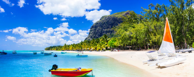 Italy to Mauritius from only €400!