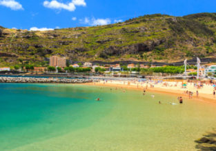 PEAK SUMMER: 7-night stay in well-reviewed 3* hotel in Madeira + flights from UK for only £163!